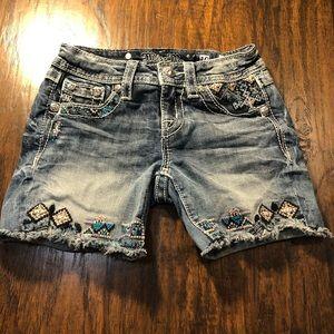 MISS ME GIRLS Jean Shorts Size 10